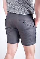 Шорты мужские  выше колена 1309 (Мокрый асфальт), фото 1