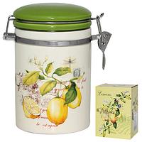 Ёмкость для сыпучих продуктов, 1,2л. 'Лимон' SNT 631-7