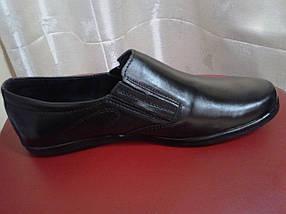 Туфли спортивные мужские из натуральной кожи Pan Ivan, фото 3