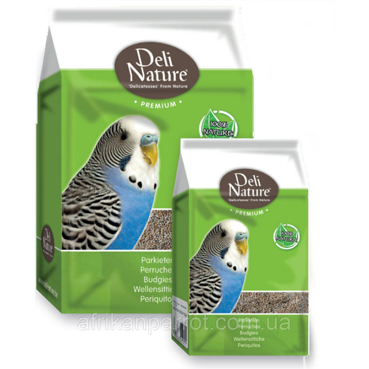 Корм для хвилястого папугу Deli Nature 1 кг (Преміум)