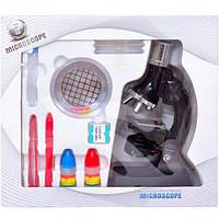 Микроскоп пластиковый со светом M17 (арт.M17)