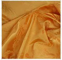 Полотно церковное Виноградная лоза желтое золото 290 см