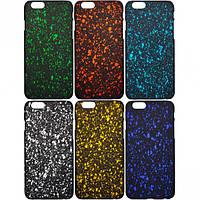 Чехол пластик звездное небо на iPhone6 (арт.ЧСт11)
