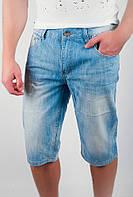 Бриджи джинсовые светлые №166KF006 (Голубой), фото 1