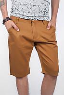 Шорты мужские до колена летние №187KF001 (Горчичный), фото 1