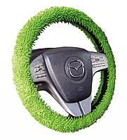 Чехол на руль оплет микрофибра M FANTASY зеленый 30303 Hadar Rosen