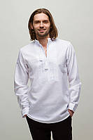 Мужская вышиванка Орий Белая, фото 1