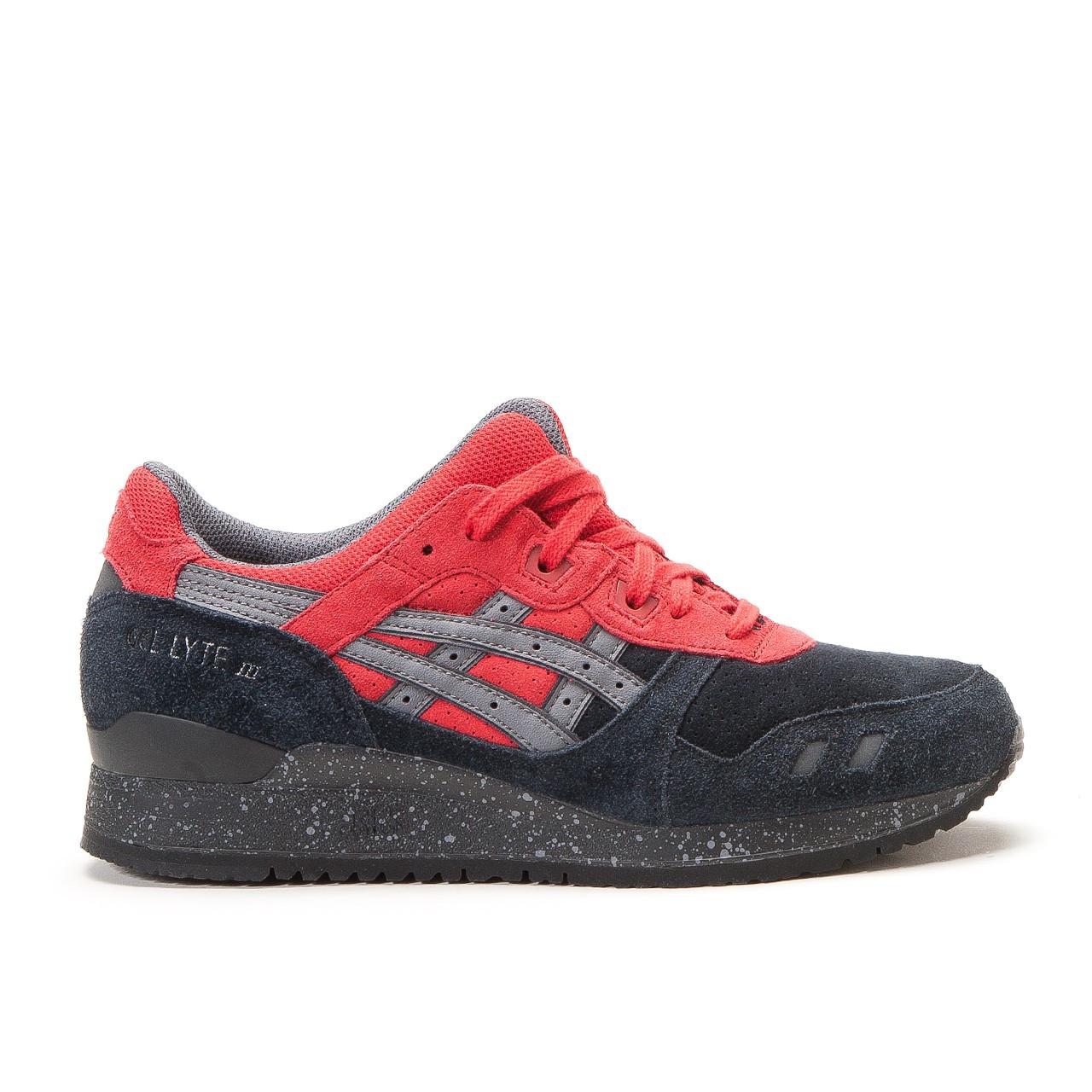 Мужские кроссовки Asics Gel Lyte III X Mas Pack Bad Santa Black Red