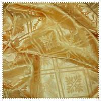 Полотно церковное Лия желтое золото 290 см