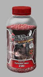 Смерть грызунам  зерно красное  250 гр (банка) от крыс и мышей, оригинал