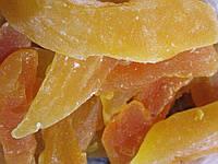 Канталупа сушеная, тайская дыня 100 (очень вкусная)