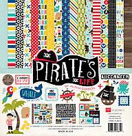 """Набор бумаги 30*30 см Echo Park """"Pirates"""", PL89016"""