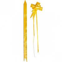 Бант из желтого полипропилена 2×32 см, 1… (арт.БП2/32)