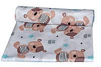 Пеленки ситец Мишки Тедди Премиум