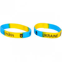 Браслет «Украина»  силиконовый (арт.БСУ)