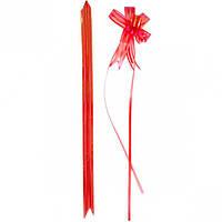Бант из красной органзы малый 1,8×36 см,… (арт.БОм1,8/36)