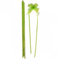 Бант из салатовой органзы малый 1,8×36 с… (арт.БОм1,8/36)