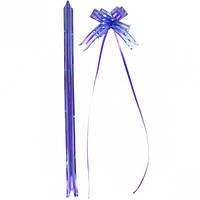 Бант из фиолетовой органзы малый 1,8×36 … (арт.БОм1,8/36)