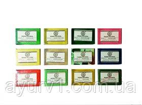 Подарочный набор мыла Кхади / Khadi soap / 12 шт по 25 гр