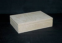 Заготовка для декупажа. Упаковочная шкатулка 23х16х6(см)