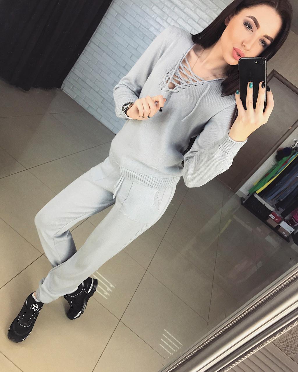 Красивый спортивный костюм с шнуровкой  продажа, цена в Харькове ... 32347e0aab7