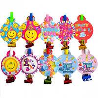 Дудочка игрушка «С днем рождения» (арт.DYT5), фото 1