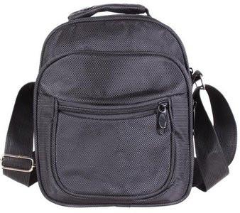 Мужская текстильная сумка через плечо 302905 черная