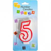 Свечка-цифра «5» (арт.СЦ5)