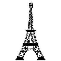 Силиконовый штамп Эйфелева башня