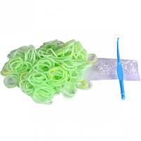 Резиночки флуоресцентные «Светло-салатов… (арт.LRF/02LG)