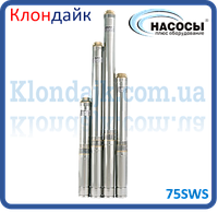 Насос погружной центробежный 75SWS 1,2-90-0,75 + муфта Насосы +