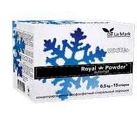 Стиральный порошок  Royal Powder White, 500г (DeLaMark)