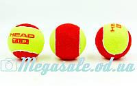 Мяч для большого тенниса Head T.I.P. 578213: 3 мяча в комплекте, фото 1