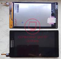 Lenovo Tab 2 A7-10 A7-20F дисплей тачскрін модуль чорний якісний сенсор