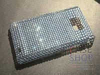 Чехол со стразами для Samsung i9100 Galaxy S2