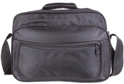Чоловіча сумка горизонтального типу поліестер 302927 чорна
