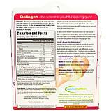 Жидкий коллаген Appliednutrition, ревитализация кожи, с ароматом клубники и киви, 10 тюбиков, 10 мл каждый, фото 2