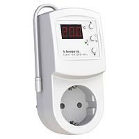 Терморегулятор в розетку для инфракрасных панелей и электрических конвекторов Terneo rz