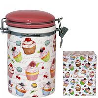 Ёмкость для сыпучих продуктов, 1,2 л 'Десерт' SNT 631-9