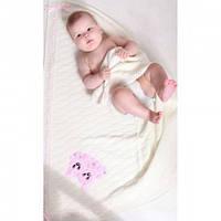 Одеяло с атласной лентой