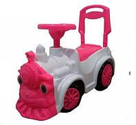 "Толокар ""Паровозик"" розового цвета 761"