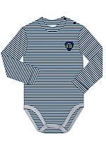 Боди футболка с длинным рукавом для мальчика арт 102660