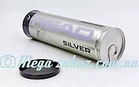 Мяч для большого тенниса Head Silver 571304: 4 мяча в вакуумной упаковке