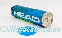 Мяч для большого тенниса Head Pro 571034: 4 мяча в вакуумной упаковке