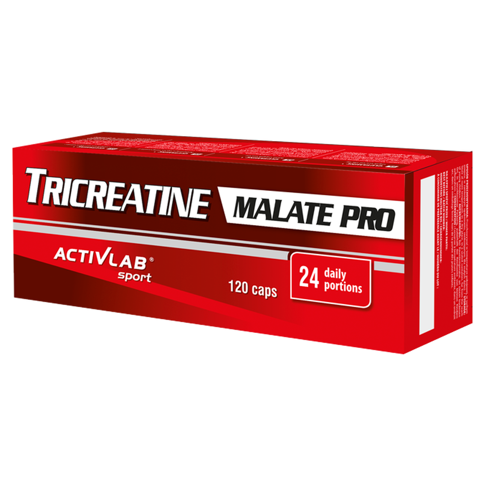 TriCreatine Malate Pro (TCM) Pro Activlab 120 caps