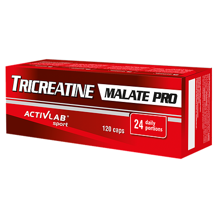 TriCreatine Malate Pro (TCM) Pro Activlab 120 caps, фото 2