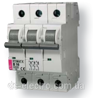 Авт. выключатель ETIMAT 6  3p C 25А (6 kA)