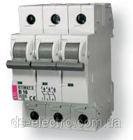 Авт. выключатель ETIMAT 10  3p D 1,6А (10 kA)