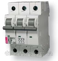 Авт. выключатель ETIMAT 10  3p D 20А (10 kA)
