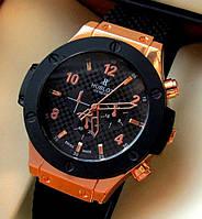 Часы копия Hublot с черным циферблатом
